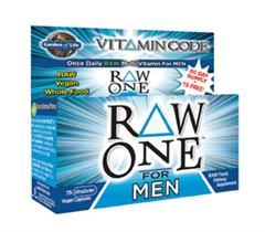 Vitamin Code - RAW One for Men (75 Capsules)* Garden of Life
