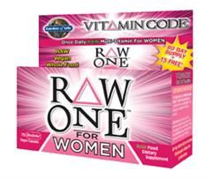 Vitamin Code - RAW One for Women (75 Capsules)* Garden of Life