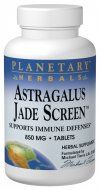 Astragalus Jade Screen (100 tablets) Planetary Herbals