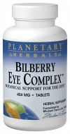 Bilberry Eye Complex (120 tablets)* Planetary Herbals