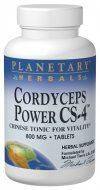 Cordyceps Power CS-4  (120 tablets) Planetary Herbals
