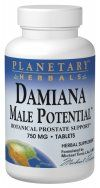 Damiana Male Potential  (180 tablets)* Planetary Herbals