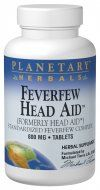 Feverfew HeadAid  (50 tablets) Planetary Herbals