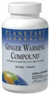 Ginger Warming Compound  (180 tablets) Planetary Herbals