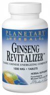 Ginseng Revitalizer  (42 tablets)* Planetary Herbals