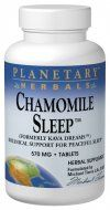 Chamomile Sleep (120 tablets) Planetary Herbals