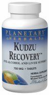 Kudzu Recovery (120 tablets) Planetary Herbals