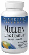 Mullein Lung Complex (15 tablets)* Planetary Herbals