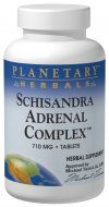 Schisandra Adrenal Complex (120 tablets) Planetary Herbals