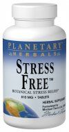 Stress Free Calming Formula (180 tablets) Planetary Herbals