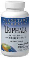 Triphala (500mg 180  capsules) Planetary Herbals