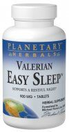 Easy Sleep Valerian  (120 tablets) Planetary Herbals