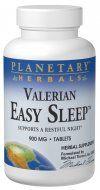 Easy Sleep Valerian  (60 tablets)* Planetary Herbals