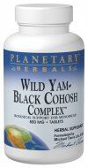 Wild Yam-Black Cohosh Complex  (120 tablets) Planetary Herbals
