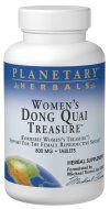 Women's Dong Quai Treasure  (120 tablets) Planetary Herbals