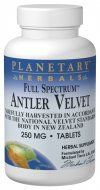 Full Spectrum Antler Velvet (250mg, 60 tablets) Planetary Herbals