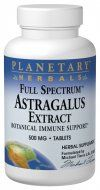 Full Spectrum Astragalus Extract (500mg 120 tablets) Planetary Herbals