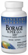 Borage Super GLA 300 (1300mg  30 softgels Planetary Herbals