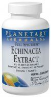 Full Spectrum Echinacea Extract (510mg  60 tablets) Planetary Herbals