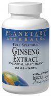 Full Spectrum Ginseng (450mg 45 tablets) Planetary Herbals