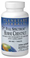 Full Spectrum Horse Chestnut (300mg  60 tablets) Planetary Herbals