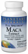 Full Spectrum Maca Extract (325mg 60 tablets) Planetary Herbals