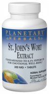 St. John's Wort Extract (300mg  90 tablets) Planetary Herbals