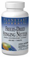 Freeze-Dried Stinging Nettles (420mg  120 tablets)* Planetary Herbals