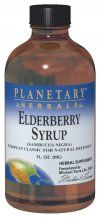Elderberry Syrup (8 oz) Planetary Herbals