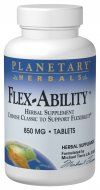 Flex-Ability  (120 tablets)* Planetary Herbals