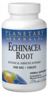 Echinacea Root (1000mg 120 tablets) Planetary Herbals