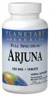 Full Spectrum Arjuna (550mg 120 tablets) Planetary Herbals