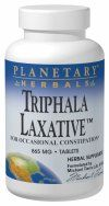 Triphala Laxative  (240 tablets) Planetary Herbals