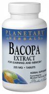 Bacopa Extract (225mg 240 tablets) Planetary Herbals