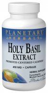 Holy Basil Extract (450mg 120 capsules) Planetary Herbals