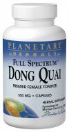 Full Spectrum Dong Quai  (550mg 120 capsules) Planetary Herbals