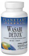 Wasabi Detox (200mg 30 tablets) Planetary Herbals
