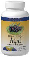 Full Spectrum Acai Extract (500mg 120 capsules) Planetary Herbals
