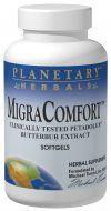 MigraComfort, Petadolex + Butterbur (50mg 30 softgels) Planetary Herbals
