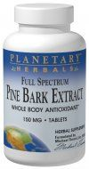 Pine Bark Extract Full Spectrum (150mg 60 tablets)* Planetary Herbals