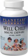 Well Child Immune Chewable (120 wafers)* Planetary Herbals