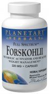 Forskohlii Full Spectrum (130 mg, 120 caps) Planetary Herbals