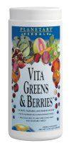 Vita Greens and Berries  (8 oz) Planetary Herbals