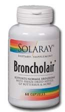 Broncholair (60 Caps) Solaray Vitamins