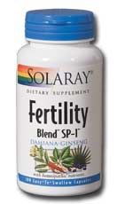 Fertility Blend SP-1 (100 caps) Solaray Vitamins