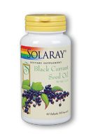 Black Currant Seed Oil (90 softgels) Solaray Vitamins