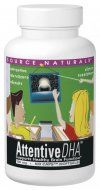 Attentive DHA (100 mg 60 softgels)* Source Naturals