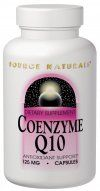 Coenzyme Q10  (200 mg-30 vegicaps) Source Naturals