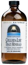 ColloidaLife Trace Minerals (Fruit Flavor 8 fl oz) Source Naturals