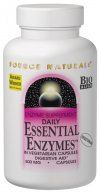 Essential Enzymes (500 mg 120 vegicaps) Source Naturals